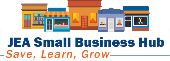 JEA Small Business Hub Logo