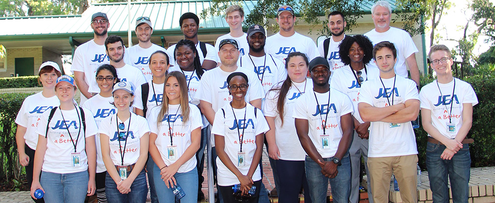 2018 JEA Co-Op Class Group Photo