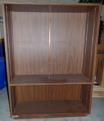 4' Wooden Bookcase