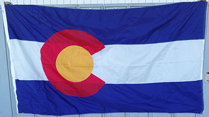 Flag Colorado 5X8
