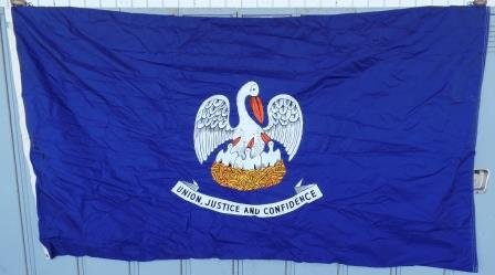 Flag Louisiana 5X8