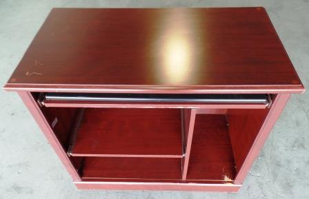 Small Rolling Computer Desk A
