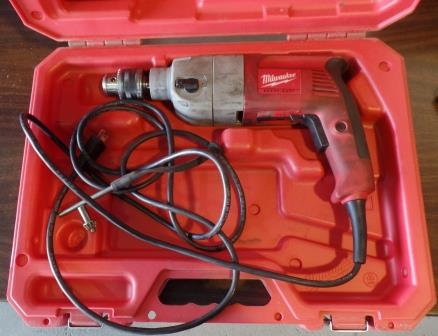 "Milwaukee Corded ½"" Hammer Drill A"