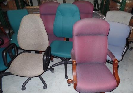 Assorted Rolling Office Chairs