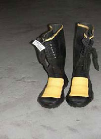 Rubber Steel Toe Boots 16