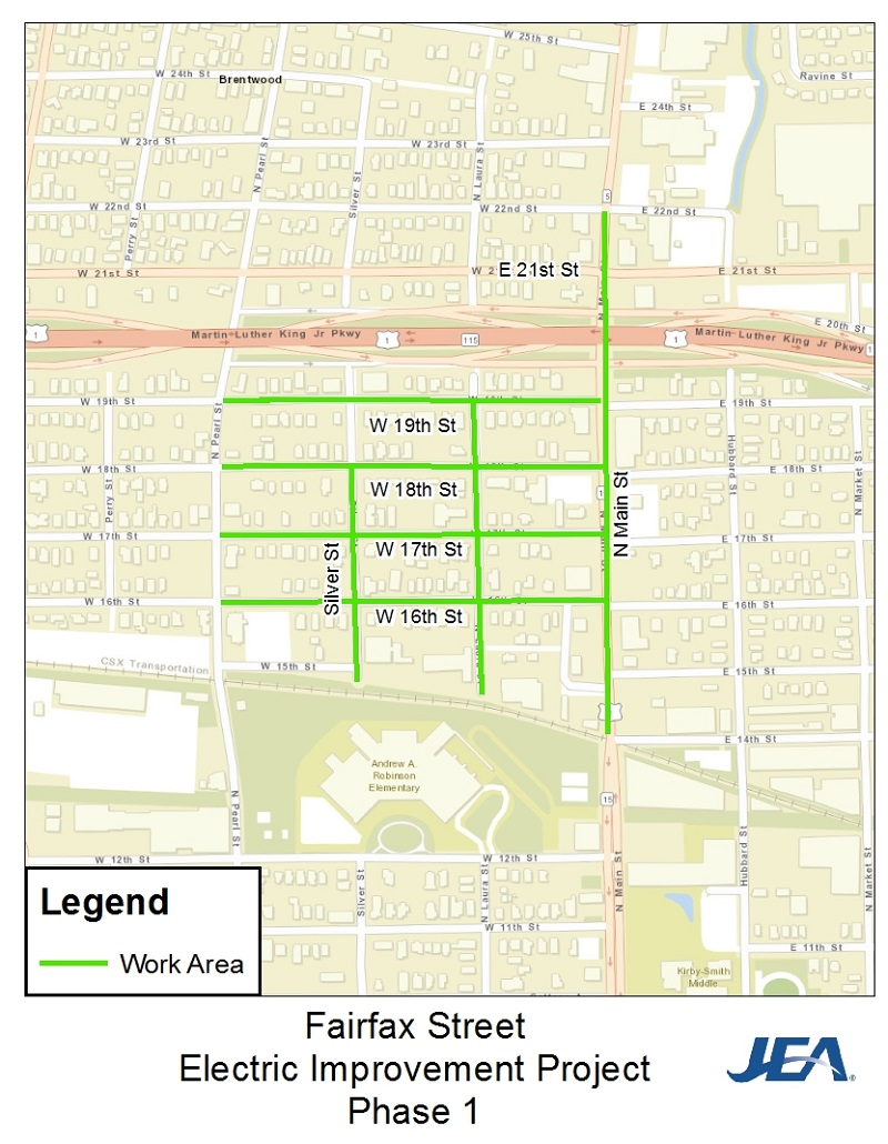 Fairfax Electric Improvement Project Phase 1
