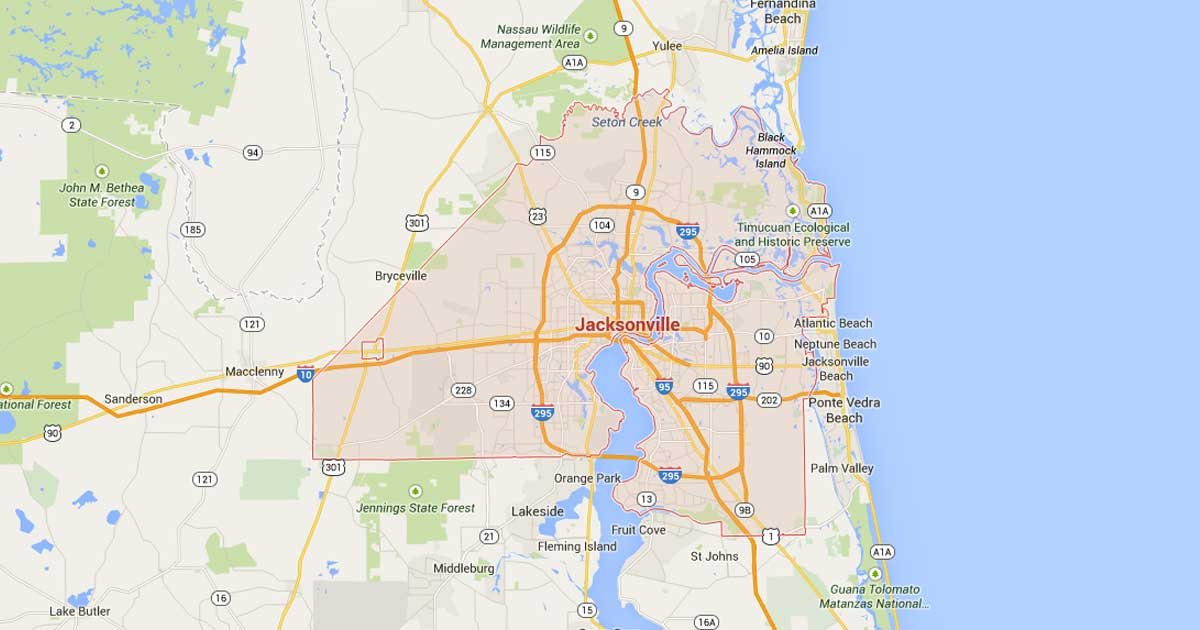 Jacksonville Power Outage Map Outage Center | JEA